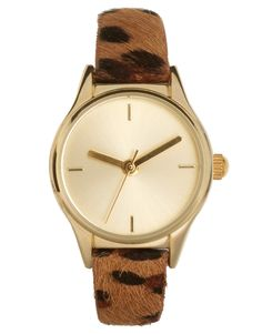 $16.57 leopard print watch ... great alternative to the tortoise shell
