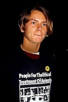 """River Phoenix """"People for the ethical treatment of animals"""""""