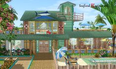 Image result for sims 4 restaurant