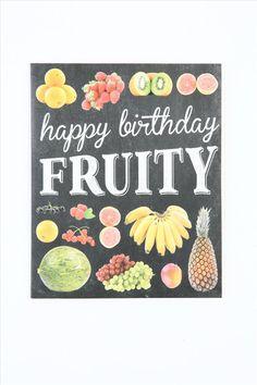 Happy birthday card by typo