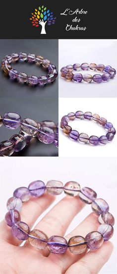 PCS pierres précieuses À faire soi-même Fabrication De Bijoux Artisanat Quartz Perles Rondes 8 mm Lilas 45