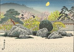 "Ito, Nisaburo ""The Garden of Nanzenji Temple, Kyoto"""