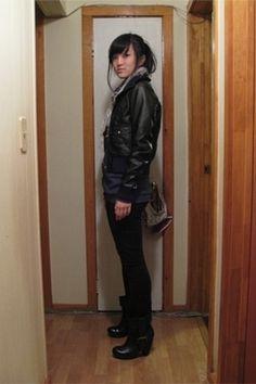 Leather pants & jacket