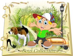 Design Wilds Cat: Vector Boys Collection #2 - 50 Ai Мальчики