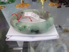 Vintage Translucent Natural Floral Green Brown Jadeite Jade