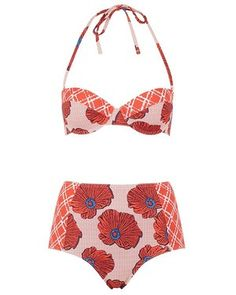 Slideshow: 20 Reasons To Start Spring Off With A Printed Swimsuit