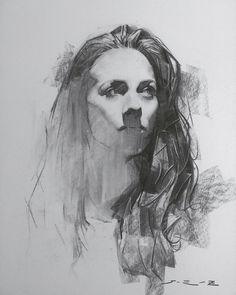 Excellent Drawing Faces With Graphite Pencils Ideas. Enchanting Drawing Faces with Graphite Pencils Ideas. Portrait Sketches, Portrait Illustration, Pencil Portrait, Art And Illustration, Portrait Art, Drawing Sketches, Pencil Drawings, Art Drawings, Illustrations