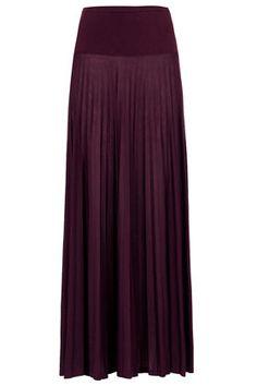 High Waist Pleat Maxi Skirt - Maxi & Midi Skirts - Skirts  - Clothing