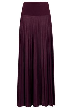 High Waist Pleat Maxi Skirt - Maxi & Midi Skirts - Skirts  - Clothing