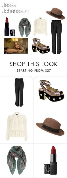 """Jessa Johansson from Girls"" by alohaandrea ❤ liked on Polyvore featuring See by Chloé, ASOS, Dorothy Perkins, Jack Wills, Jigsaw, NARS Cosmetics, show, jessa and girls"