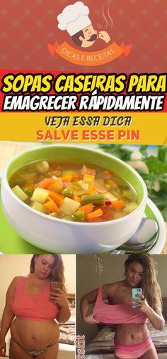 As 10 Receitas de Sopas Caseiras Para Emagrecer Rapidamente  #sopas #10sopas #caseiras #emagrecer