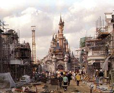 images of disneyland hotels in 1985   Castle Club: Breve historia de Disneyland Paris