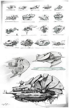 Love these for inspiration! The ships themselves are a touch too modern though!