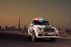 Brabus Mercedes-Benz G63 AMG Joins Dubai Police Fleet