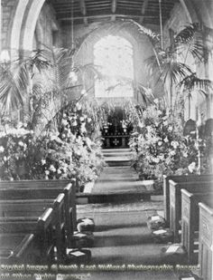 Interior of St Wilfrid's Church, Wilford Image Archive, Derbyshire, Nottingham, Canvas Prints, Art Prints, Historical Photos, The Past, Scenery, Table Decorations