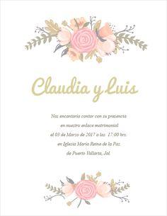 Imágenes de flores para la invitación