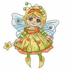 Little fairy cross stitch pattern. Little fairy-butterfly cross stitch digital pattern pdf, very easy. Butterfly Cross Stitch, Funny Bunnies, Digital Pattern, Cross Stitch Patterns, Bunny, Fairy, Just For You, Colours, Stitch Kit