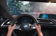 The new, futuristic BMW i8 Vision Connectivity, Technology, Safety and Design-tinoshare.com