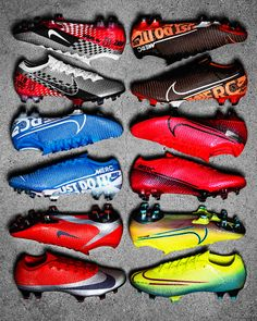 Get your Nike Mercurial Vapor today at Unisport. Arguably one of the greatest football boots ever made. Latest Football Boots, Cool Football Boots, Soccer Boots, Football Shoes, Football Soccer, Nike Soccer, Custom Football Cleats, Girls Soccer Cleats, Dibujos Tattoo