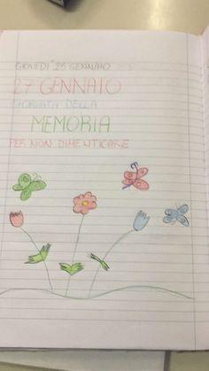 """27 Gennaio """"Giornata della memoria """" Per non dimenticare… Bullet Journal, Blog, Teacher, Halloween, House, Professor, Home, Haus"""
