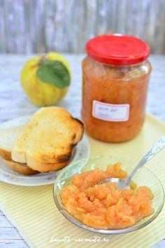 Gem de gutui Canning Recipes, Cantaloupe, Deserts, Sweets, Fruit, Food, Good Stocking Stuffers, Desserts, The Fruit