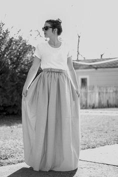 DIY T-Shirt Dress - FREE Sewing Tutorial