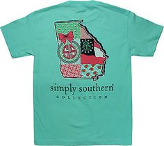 Simply Southern Tees Short Sleeve Preppy Georgia
