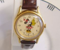 Disney Minnie Mouse Watch Lorus In Great Vintage by LessieBlue, $19.99
