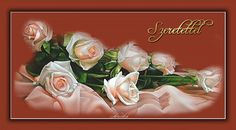 Birthday Name, Happy Birthday, Name Day, Beautiful Roses, Floral, Happy Aniversary, Florals, Happy B Day, Saint Name Day