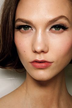 Karlie Kloss Backstage At Christian Dior Couture Spring 2012 PFW