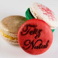 O trio... #natal2015 #macarons #maymacarons #sabores #cores #especialdomes #especialnatal2015 #presenteie #nossosmacarons