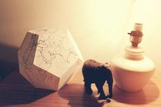 Alexi Bullock Design: DIY Paper Globe