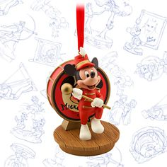 The Mickey Mouse Club Limited Release Sketchbook Ornament - June 2015 Minnie Mouse Mug, Mickey Mouse Club, Disney Mickey Mouse, Walt Disney, Disney Christmas Ornaments, Hallmark Ornaments, Christmas Decorations, Holiday Decor, Christmas Tree