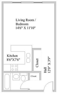26 Efficiency Apartments Ideas Apartment Layout Studio Apartment Layout Floor Plans