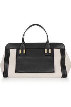Chloé | The Alice leather tote | NET-A-PORTER.COM