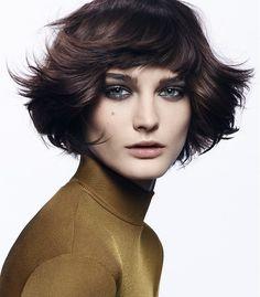 Dessange Paris Medium Brown Hairstyles