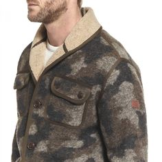 Polaires HOMME HEATHER CAMOU DOUGALL - AIGLE