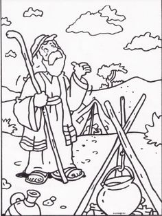Awesome Bible Coloring Pages Abraham High Quality - http://www.coloringoutline.com/awesome-bible-coloring-pages-abraham-high-quality/?Pinterest