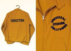 1960's Director's Jacket Universal Studios Hollywood by Fabstract