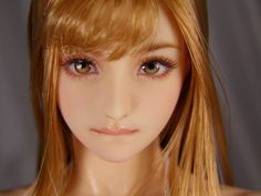 "1/6 custom Doll head (Obitsu 01) ""Misuzu"""