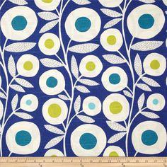 Richloom Ingrid Slub Baltic #pattern @Fabric.com