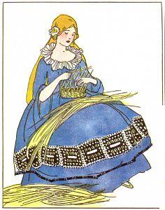 King Hawksbeak by Margaret Evans Price, 1921 Grimm Tales, Children's Book Illustration, Book Illustrations, Rumpelstiltskin, Vintage Nursery, Fairytale Art, First Art, Nursery Rhymes, Vintage Children