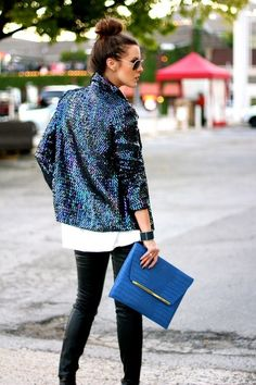 Addicted to sequins and sparkle - must be the season.