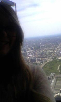 Me on the ledge in chicago! Was soooo much fun!