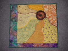 Sunflower Delight  (Quilt Art)