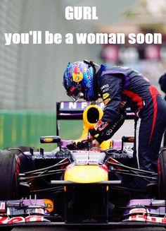 Welcome to the Piranha Club Mark Webber, Australian Grand Prix, Valtteri Bottas, Daniel Ricciardo, Ferrari, Woman