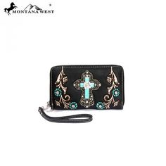 MW86-W003 Montana West Western Spiritual Collection Wallet