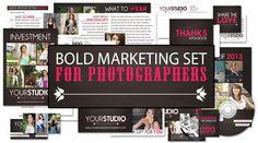 Bold Marketing Set For Photographers
