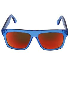 Sunglasses - Transparent Blue/Multilayer Red BUY IT NOW ON www.dezzy.it!