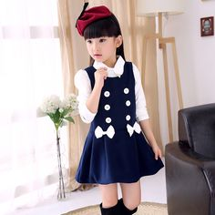 Cheap dress used, Buy Quality dress tight directly from China dresses wear christmas party Suppliers: 2015 Autumn Baby Girl Dress 3-12 Age dots Long Sleeve Girls Party Tutu Dresses Kids Clothes Pearl Princess Girls Flower